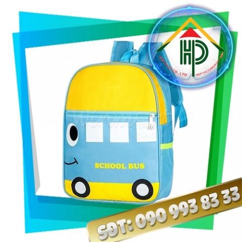 Balo mầm non School Bus