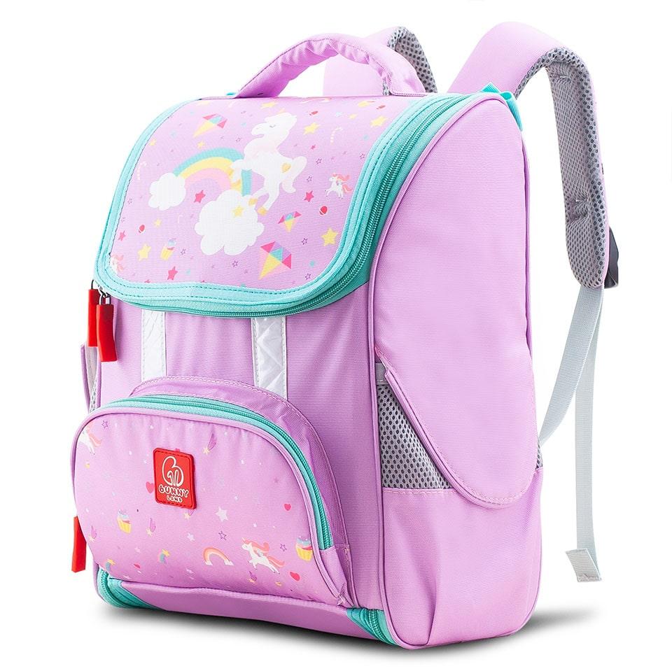 Balo cho bé gái lớp 1 Floral Unicorn