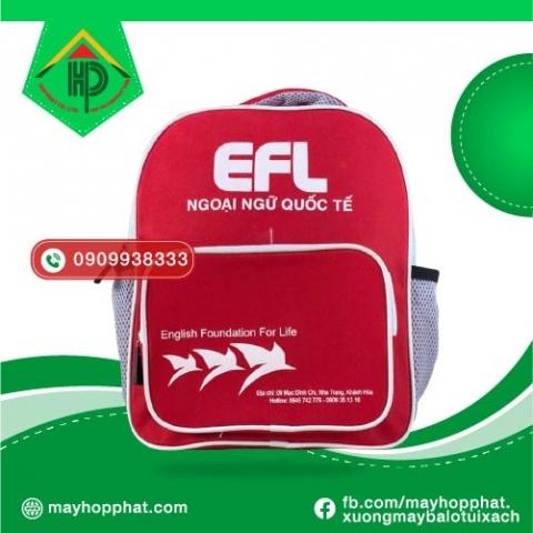 Balo anh ngữ EFL mặt trước
