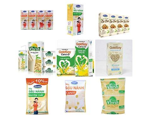 Các sản phẩm của Vinamilk