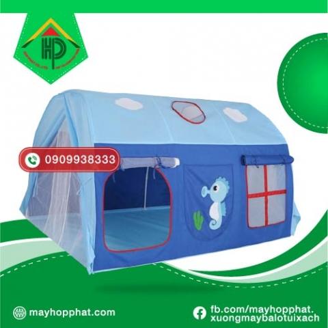 Lều cắm trại trẻ em là không gian vui chơi cho bé