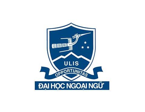 logo trường Đại học Ngoại Ngữ